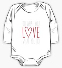 Do What You Love One Piece - Long Sleeve