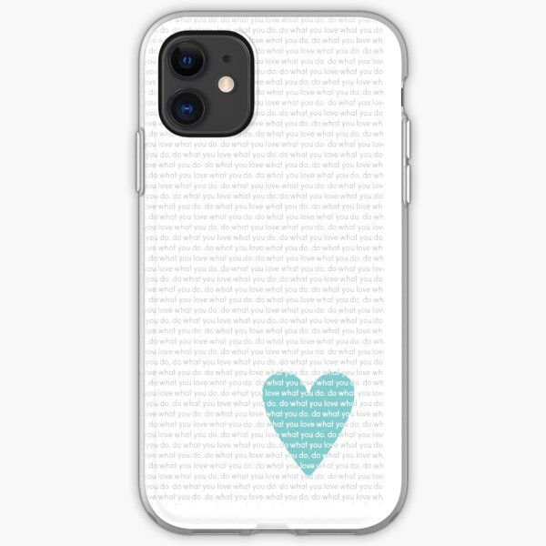 Do What You Love News iPhone Soft Case