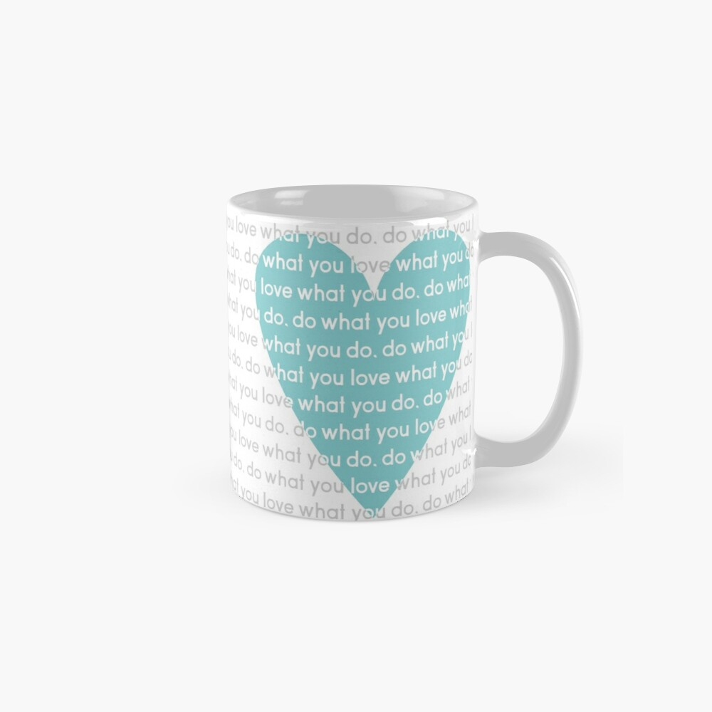 Do What You Love News Mug