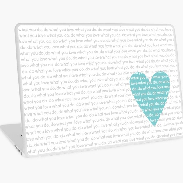 Do What You Love News Laptop Skin