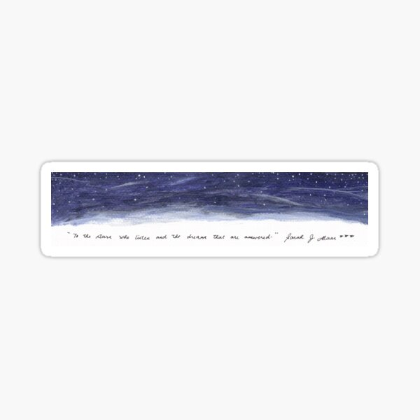 ACOMAF Quote Sticker