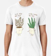 garden etiquette Men's Premium T-Shirt