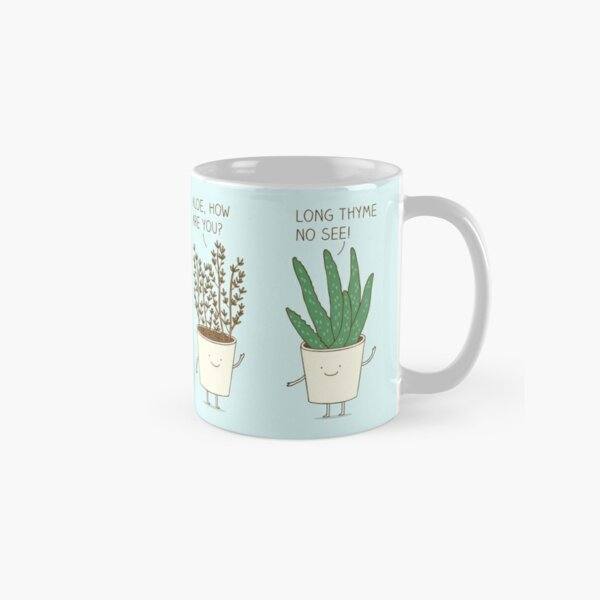 garden etiquette Classic Mug