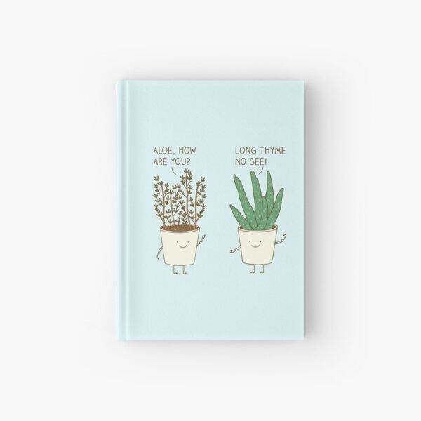 garden etiquette Hardcover Journal