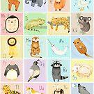 English Animal Alphabet by Judith Loske