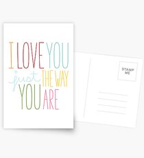 The Way You Are Postcards
