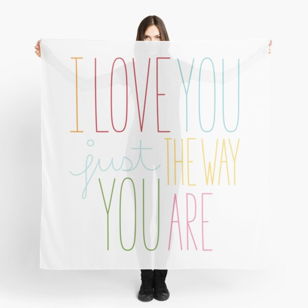 The Way You Are Scarf