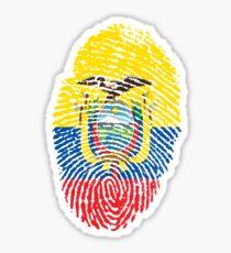 Identidad Ecuador Sticker