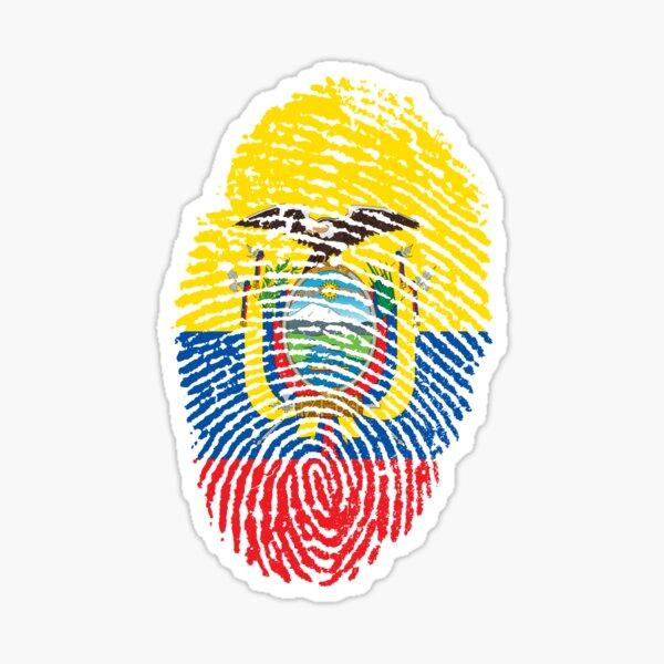 Identidad Ecuador Pegatina