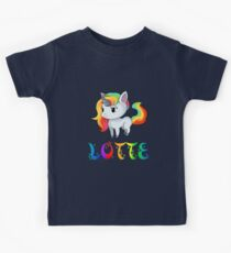 Lotte Unicorn Sticker Kids Clothes