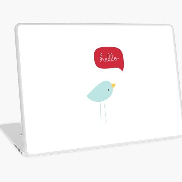 Hello Birdie Laptop Skin