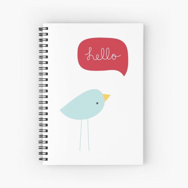 Hello Birdie Spiral Notebook