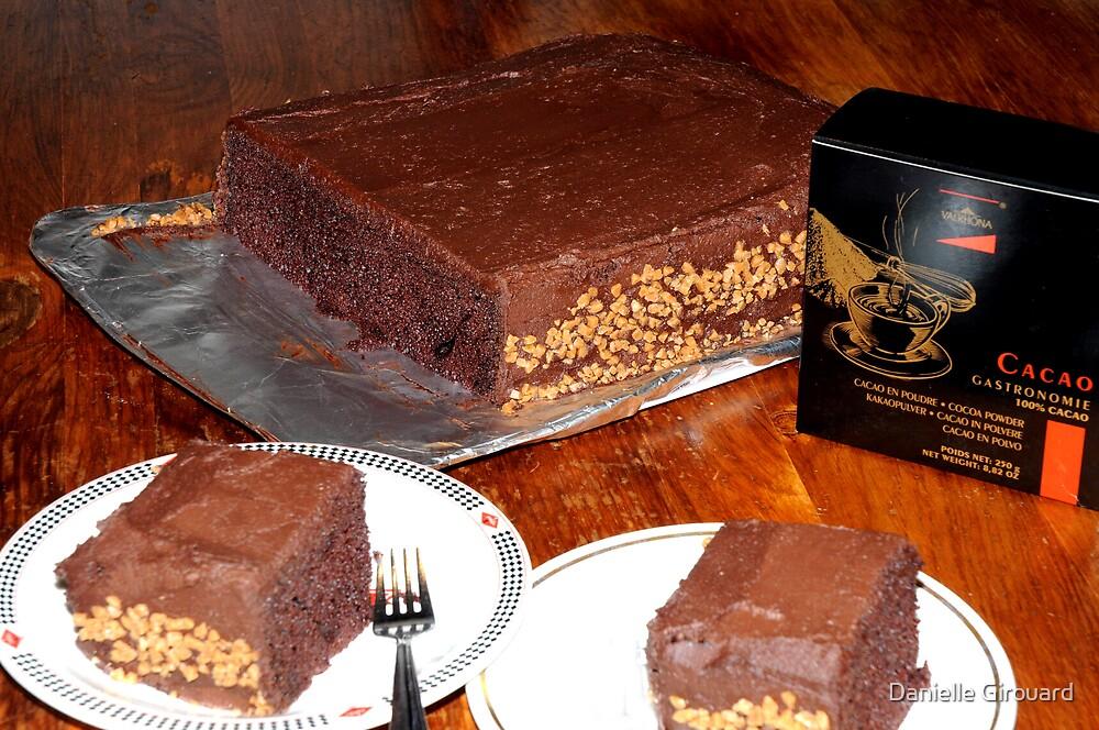 The Chocolate Scores Cake by Danielle Girouard