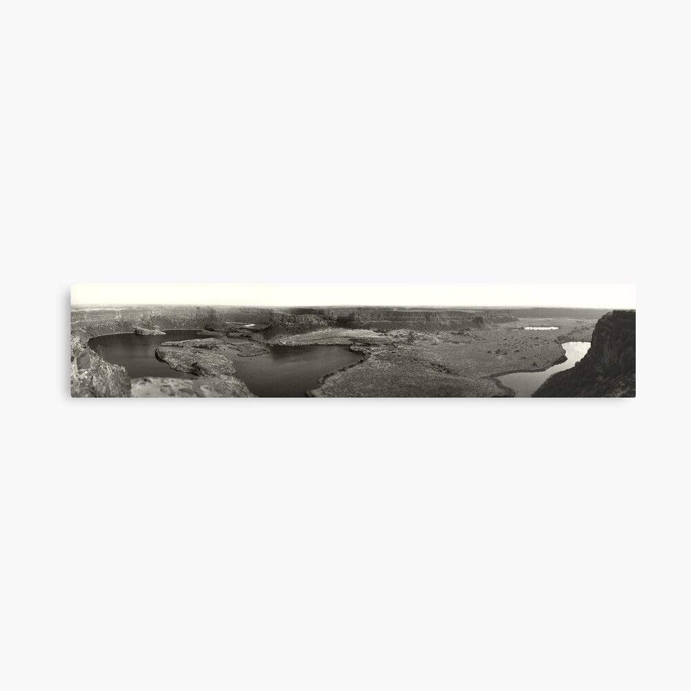 Dry Falls - Washington State - Panorama Metal Print