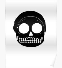 Skeleton Morty Poster