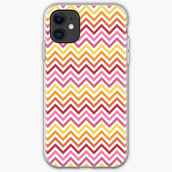 Rainbow Chevron #1 iPhone Soft Case