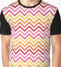Rainbow Chevron #1 Graphic T-Shirt
