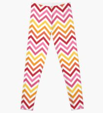 Rainbow Chevron #1 Leggings