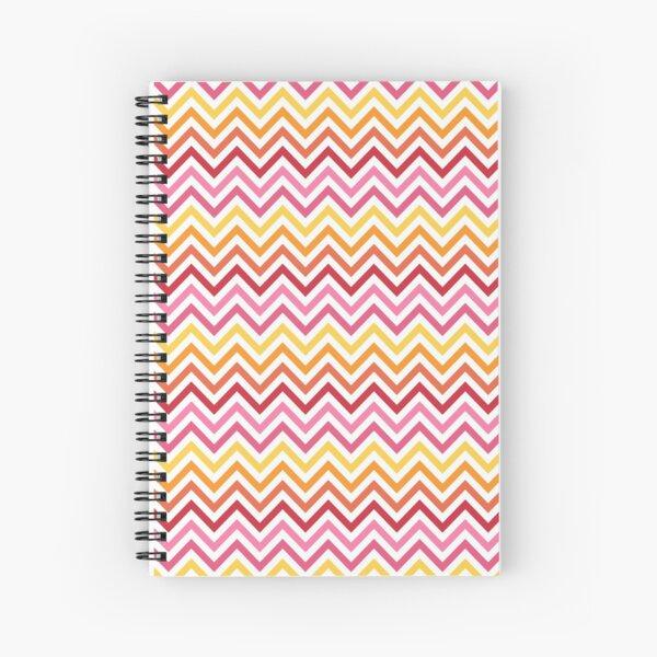 Rainbow Chevron #1 Spiral Notebook