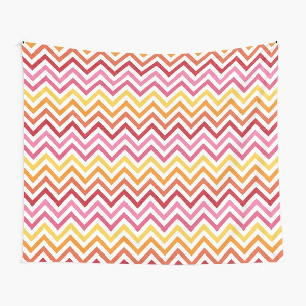 Rainbow Chevron #1 Tapestry