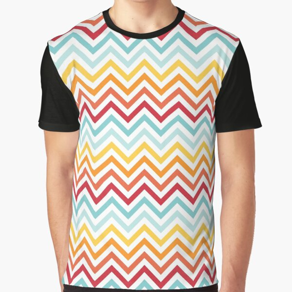 Rainbow Chevron #2 Graphic T-Shirt