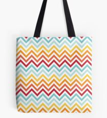 Rainbow Chevron #2 Tote Bag