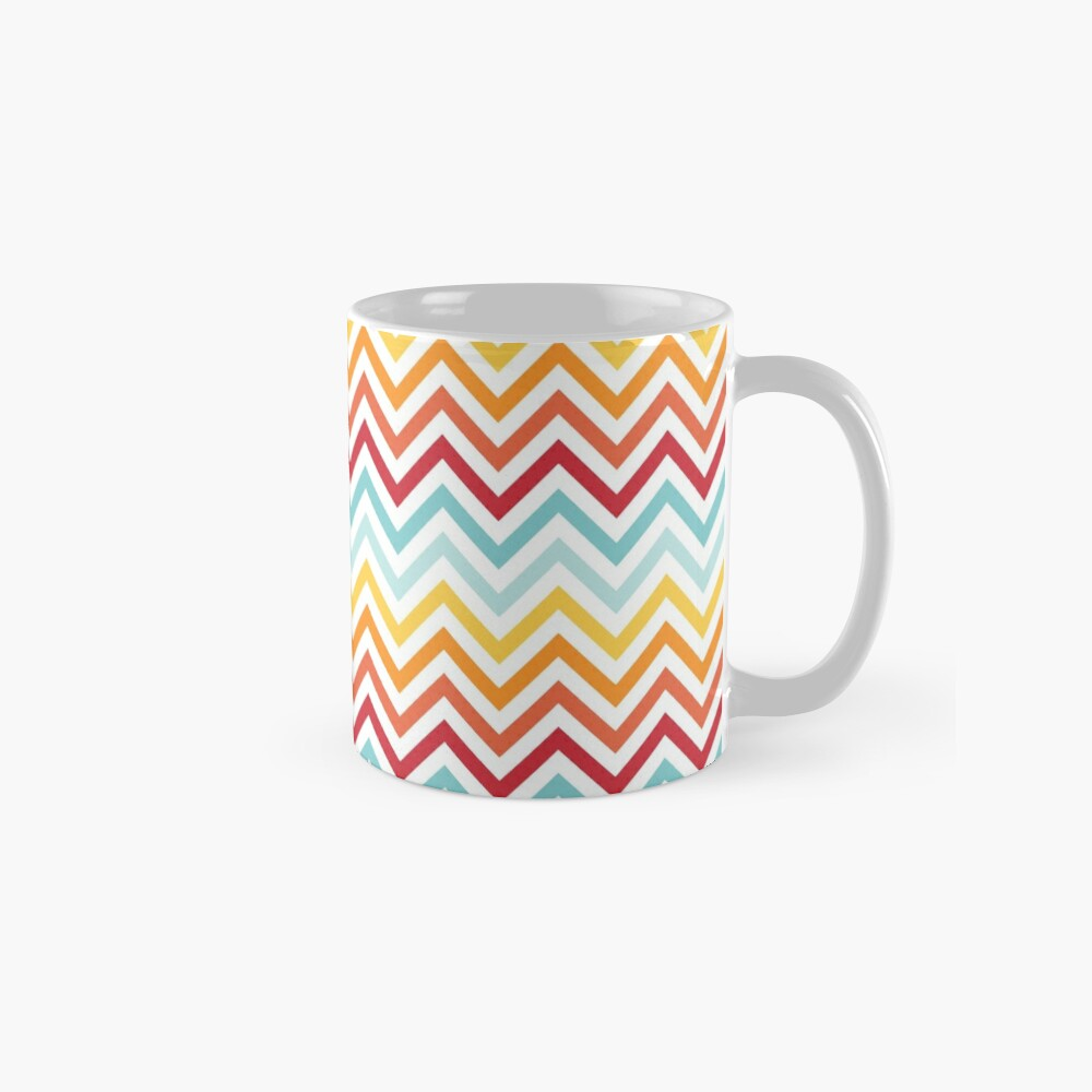 Rainbow Chevron #2 Mug