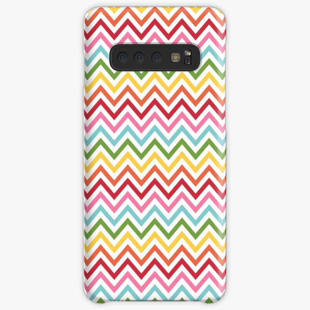 Rainbow Chevron #3 Case & Skin for Samsung Galaxy