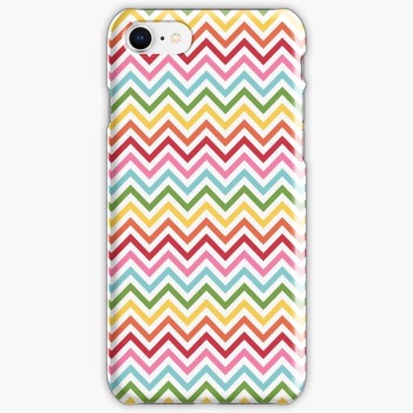 Rainbow Chevron #3 iPhone Snap Case