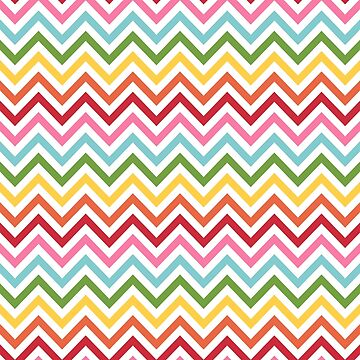 Rainbow Chevron #3 by MissTiina