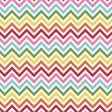 Rainbow Chevron #3 by MissTiina