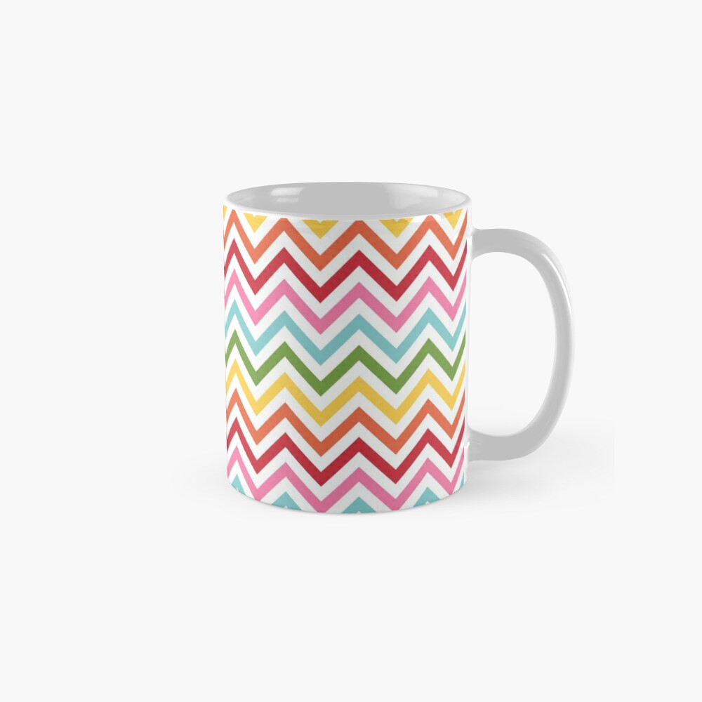 Rainbow Chevron #3 Mug