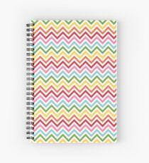 Rainbow Chevron #3 Spiral Notebook