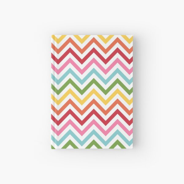 Rainbow Chevron #3 Hardcover Journal