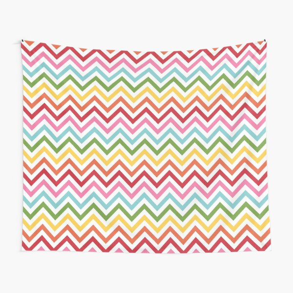 Rainbow Chevron #3 Tapestry