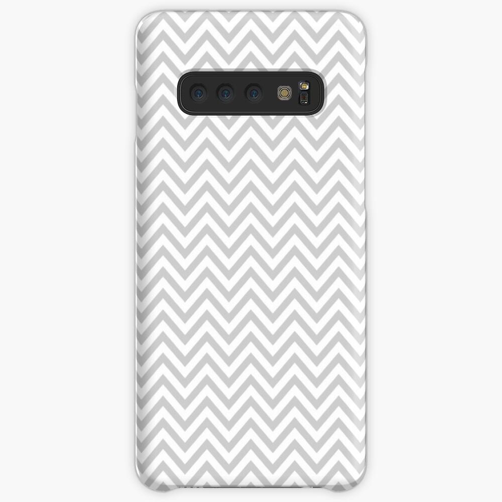 Grey Chevron Case & Skin for Samsung Galaxy