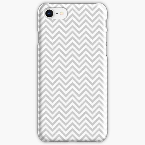 Grey Chevron iPhone Snap Case