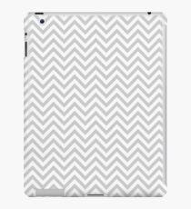 Grey Chevron iPad Case/Skin