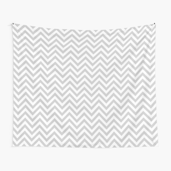 Grey Chevron Tapestry