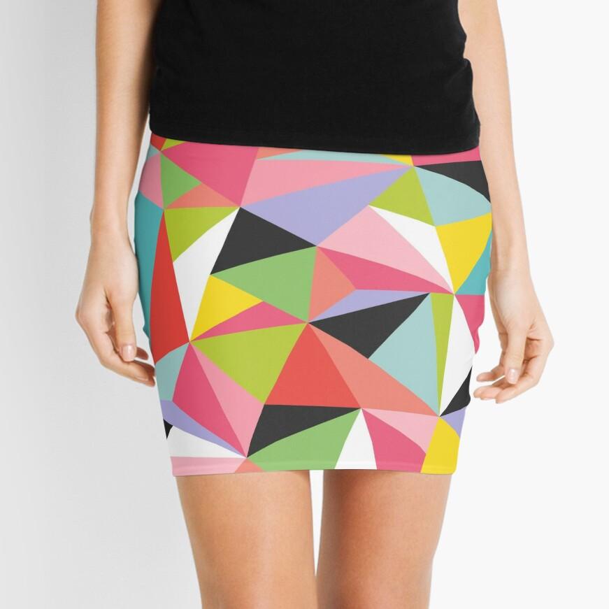 Geo Jane Mini Skirt