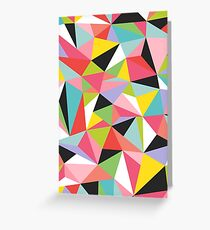 Geo Jane Greeting Card