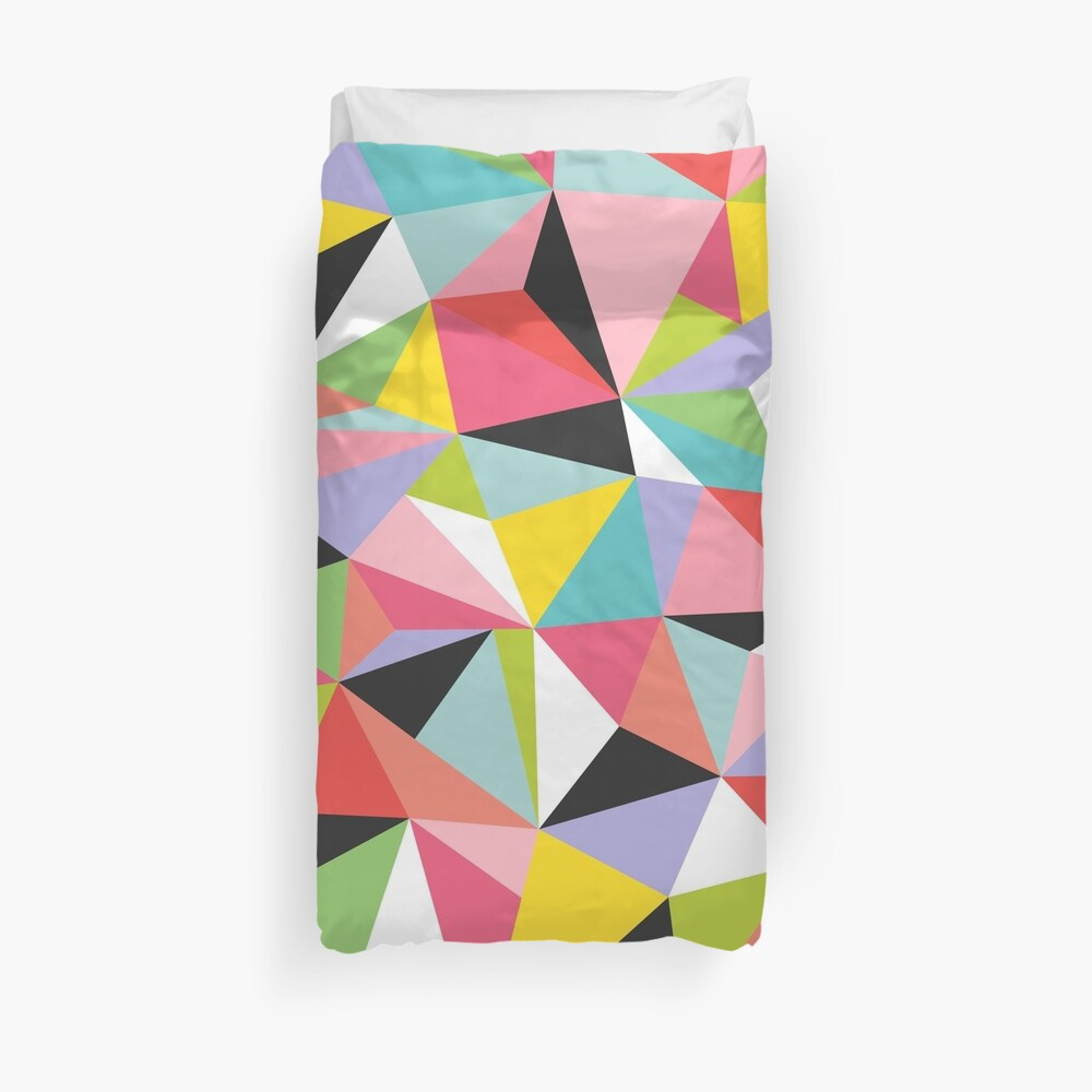 Geo Jane Duvet Cover