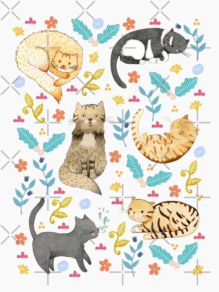 My Cats by Judith-Loske