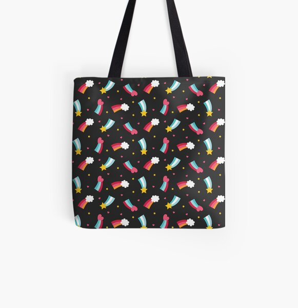 Little Rainbows All Over Print Tote Bag
