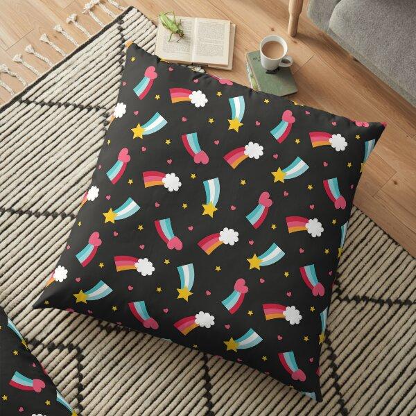 Little Rainbows Floor Pillow