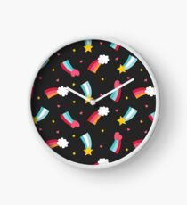 Little Rainbows Clock