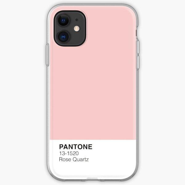 Pantone de cuarzo rosa Funda blanda para iPhone
