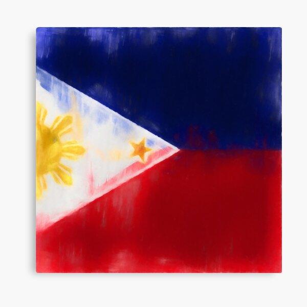 Filipino Flag No. 1, Series 1 Canvas Print