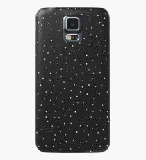 Random Dots on Black Case/Skin for Samsung Galaxy