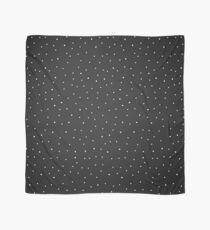 Random Dots on Black Scarf